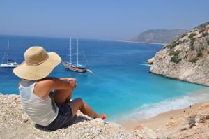 Kas kaputas beach 1 300x199 Kas / Antalya