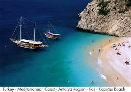 Kas kaputas beach Kas / Antalya