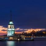 Turkey, Istanbul Kızkulesi