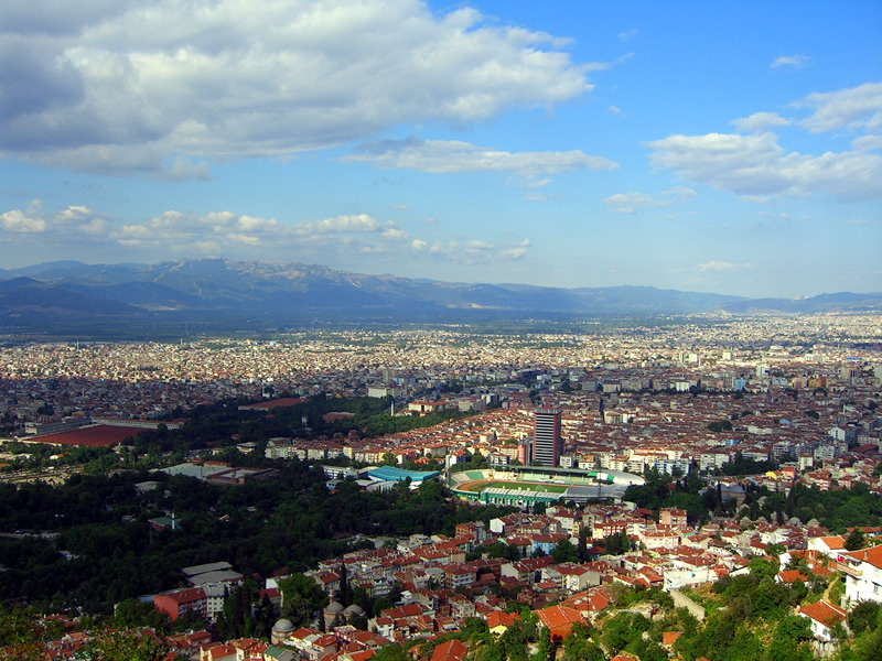 Bursa  Turkey Travel Guide and Touristic Regions information