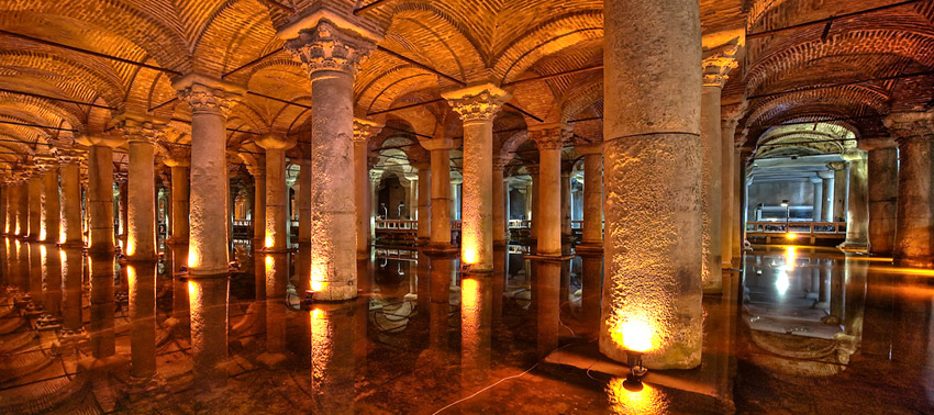 Basilica Cistern  Turkey Travel Guide and Touristic Regions