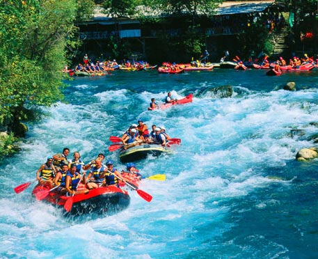 rafting in Turkey